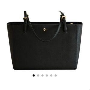 Business Work Laptop Tote Saffiano Leather